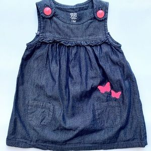 Carter's Dark Denim Sleeveless Dress